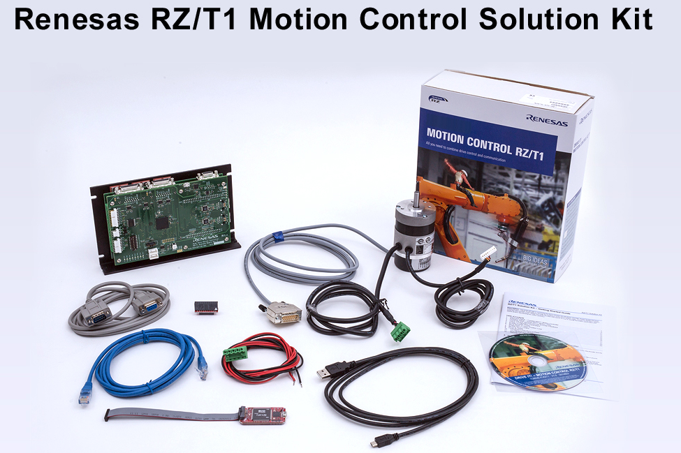 Renesas' RZ/T1 motion control solution simplifies industrial drives and robotics systems development
