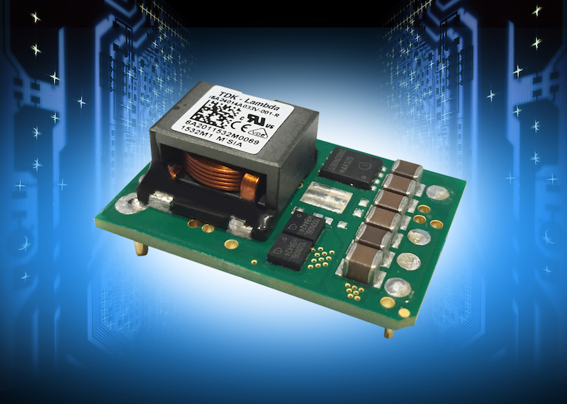 TDK expands TDK-Lambda i6A series of step-down non-isolated DC-DC converters