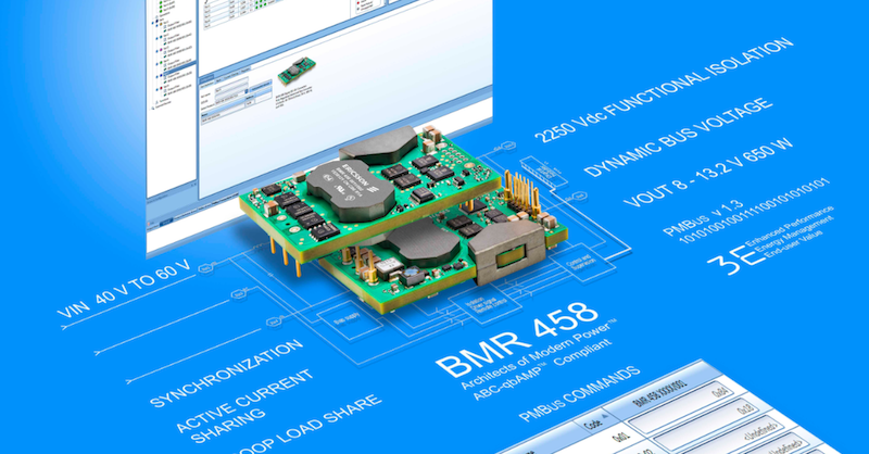 Ericsson's latest bus converter module raises the bar for control and delivery