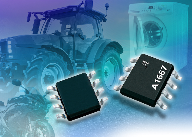 Allegro unveils three-wire true zero-speed surface-mount magnetic speed sensor IC