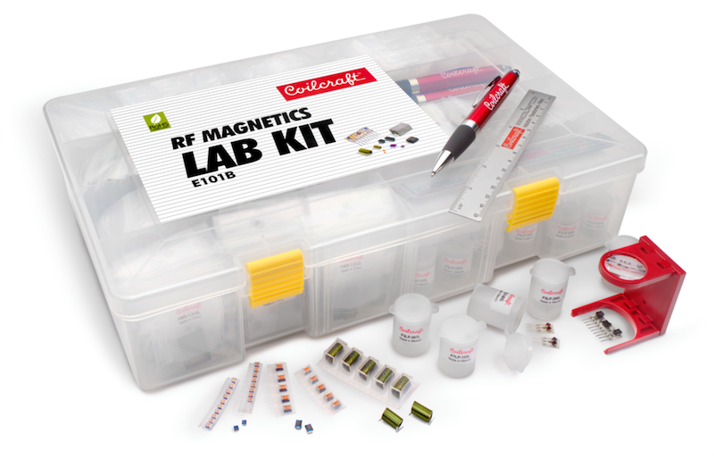 Coilcraft introduces new RF Magnetics Lab Kit for EE educators