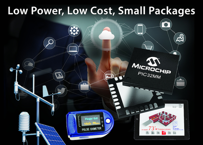 Microchip launches lowest-power PIC32 Family