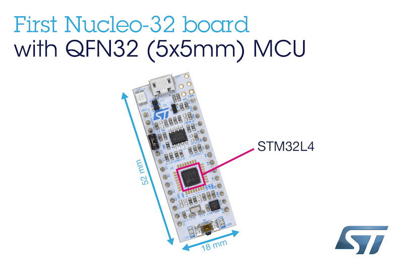 STMicro releases dev ecosystem, adds low-power STM32L4 Micros