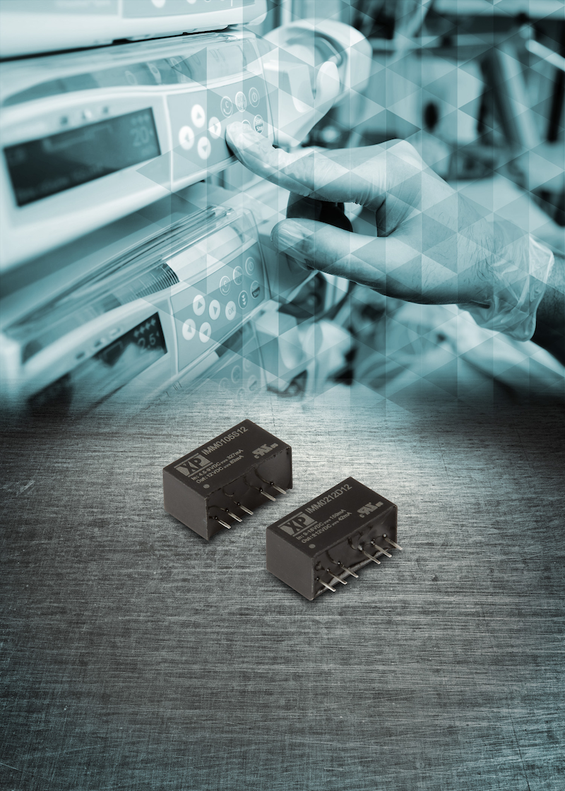 XP Power's compact 1W and 2W DC-DC converters target medical apps