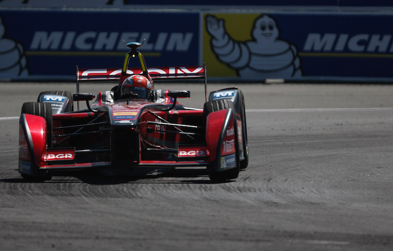Mouser-sponsored Formula E Team finishes season on podium