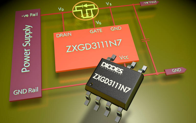 Active OR'ing controller from Diodes offers max voltage to 200V for high-rel power