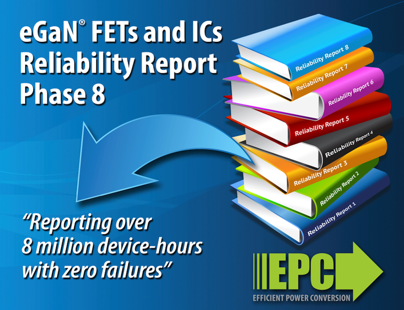 EPC publishes GaN tech reliability report