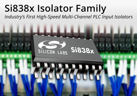 Silicon Labs claims first high-speed multichannel PLC input isolators