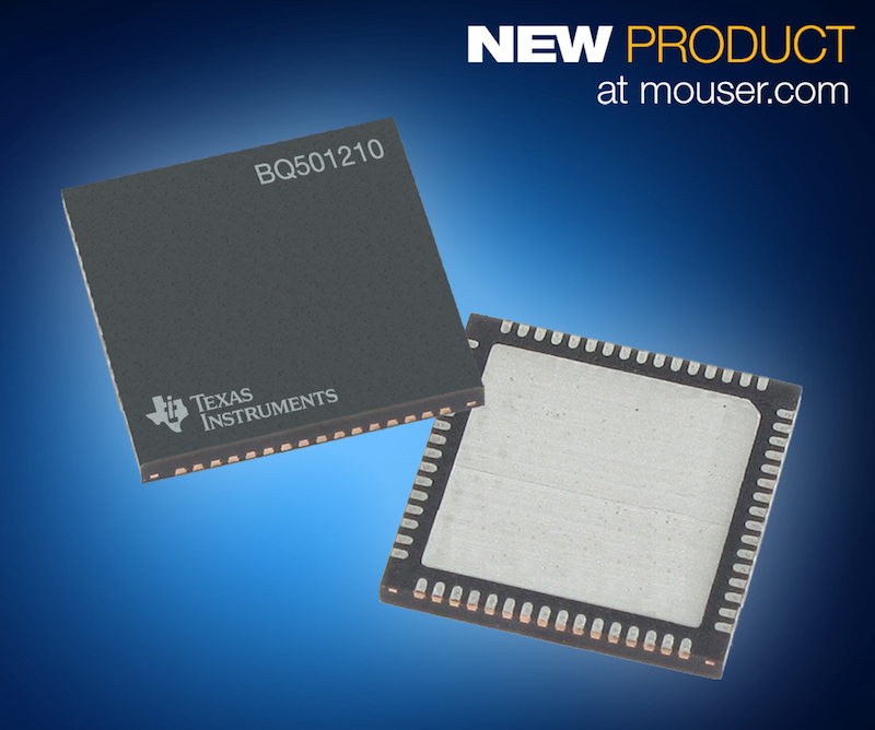 TI's 15W Qi-certified bq501210 wireless power transmitter now at Mouser
