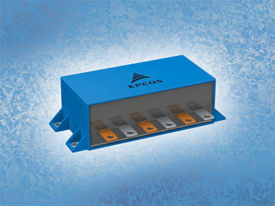 TDK's DC link capacitor serves advanced IGBT modules