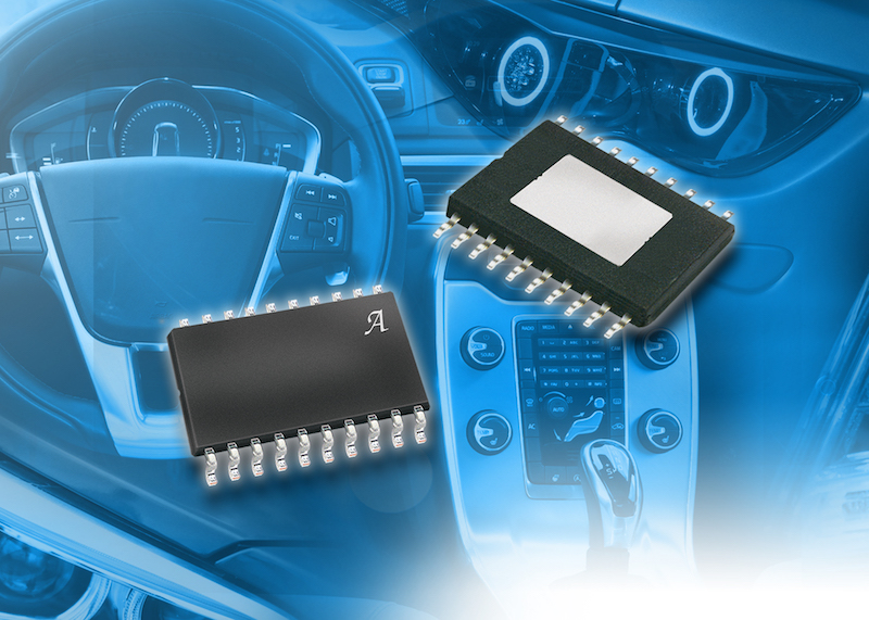 Allegro's latest linear current regulator and controller family serves automotive LED lighting