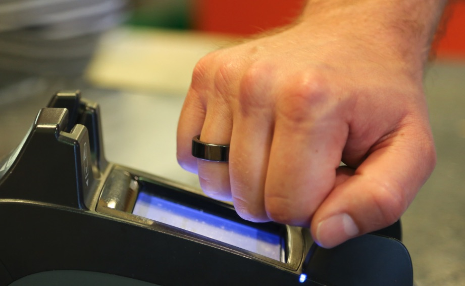 World's first NFC payment ring powered by Infineon's contactless security chip