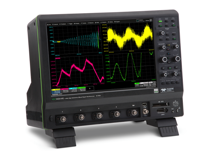 Teledyne LeCroy's 10-Bit HDO9000 high-def 'scopes expand the HDO family to 4 GHz
