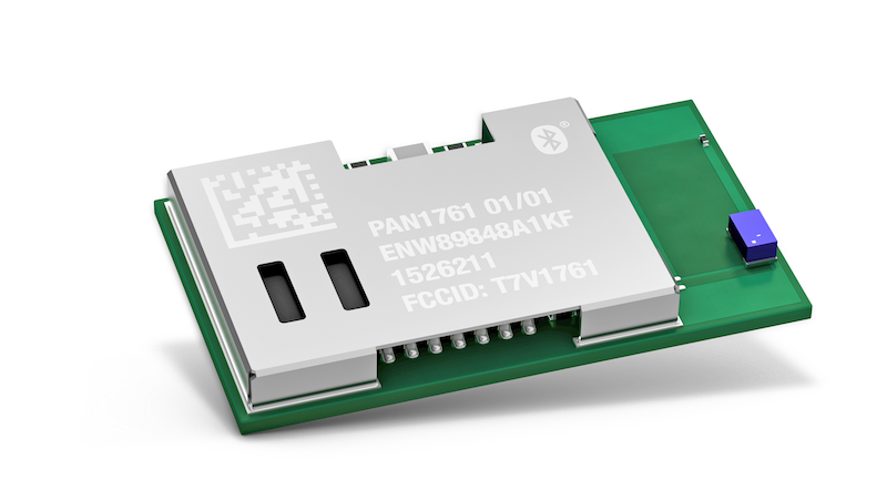Panasonic's secure Bluetooth low energy and NFC PAN1761 combo module empowers IoT apps