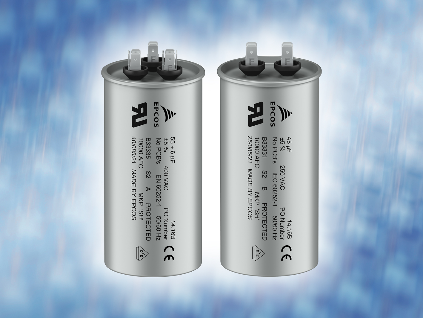 TDK's robust AC capacitors tout long lifespan