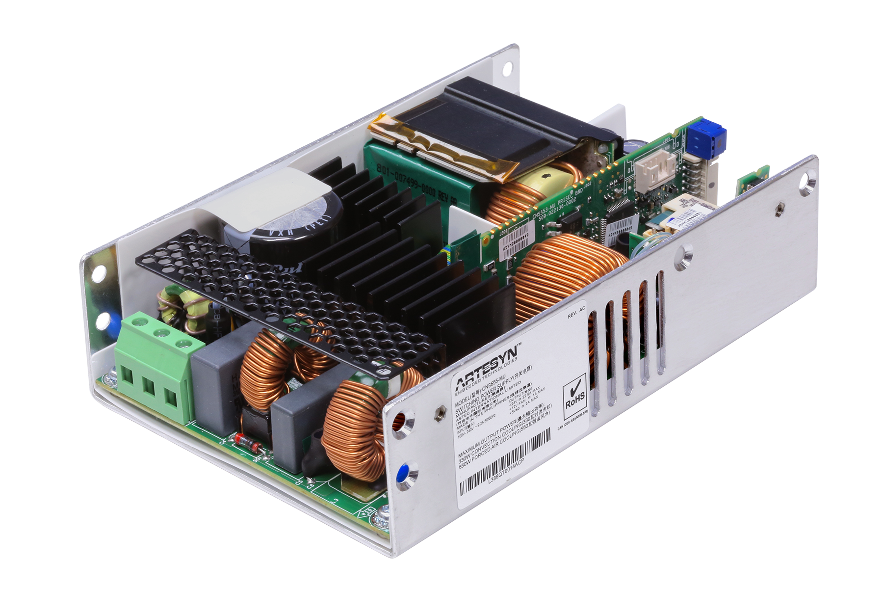 Artesyn launches family of medical 650W AC-DC Supplies