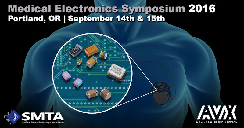 AVX to unveil a new MLCC Series at Medical Electronics Symposium 2016