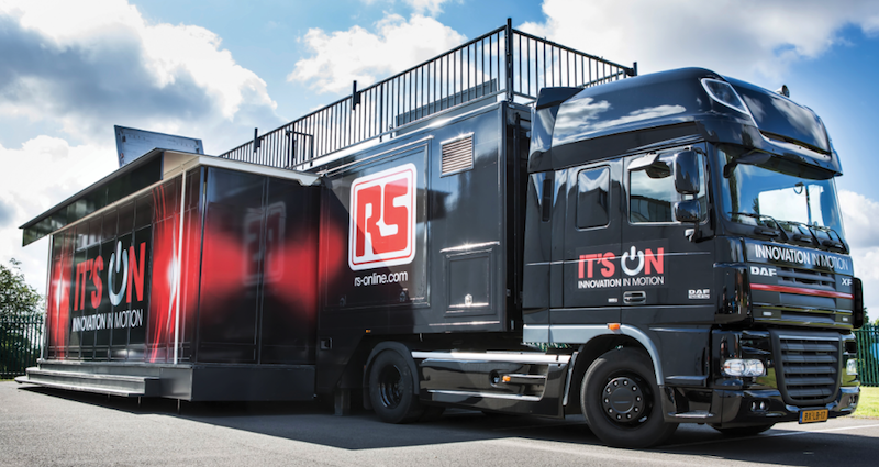 RS components' Live truck tour to educate and inspire existing and future engineers