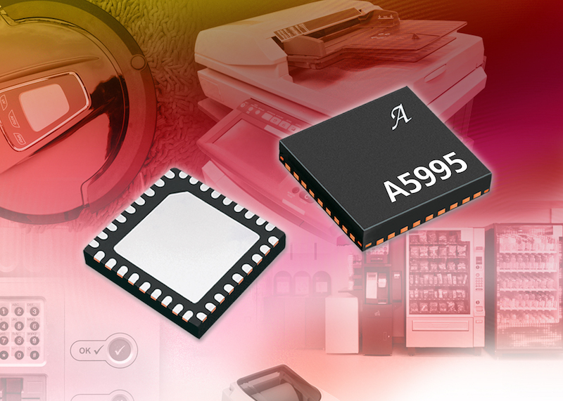 Allegro introduces dual full-bridge PWM  motor driver IC