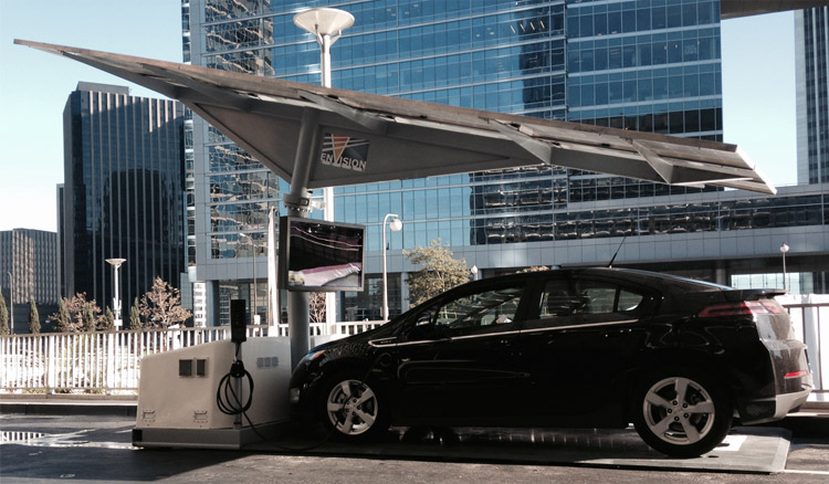Envision Solar to build EV ARC transportable solar-powered EV chargers for New York State