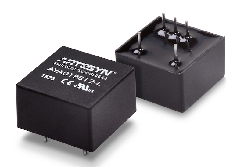 Artesyn's 3W industrial converters in ultra-compact DIP-8 package target space-critical apps