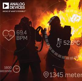 ADI and Dell EMC make IoT solution for real-time first-responder body monitoring