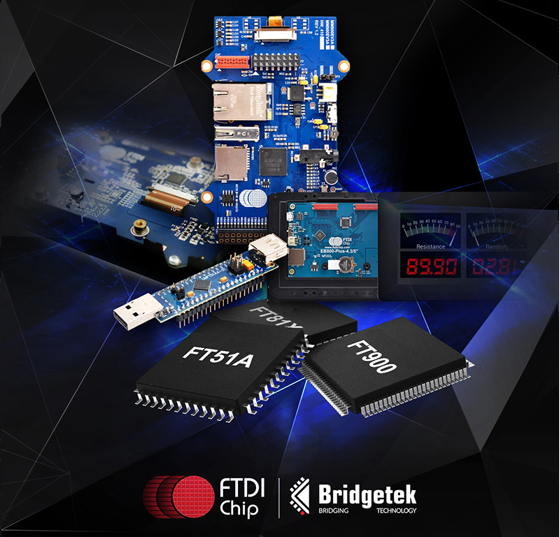 FTDI Chip spins off Bridgetek to address MCU, display spaces