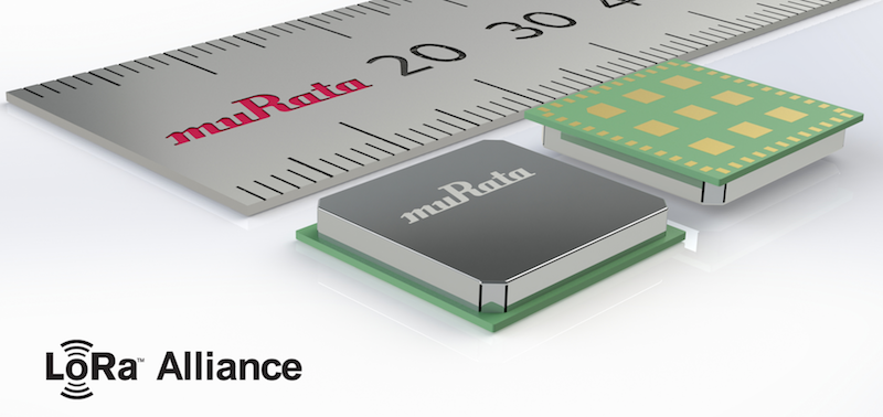 Murata's ultra-compact LoRa wireless module now at Avnet Abacus