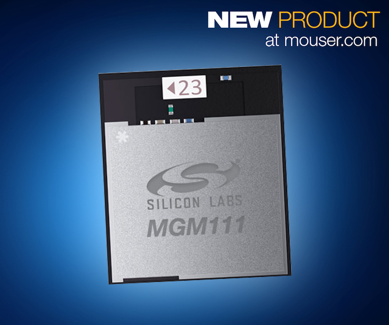 Mouser now has Silicon Labs' Mighty Gecko IoT module