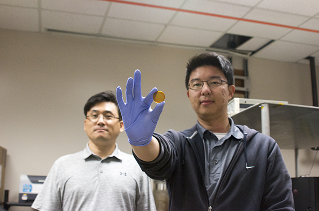 Novel Supercapacitor can be charged by body heat