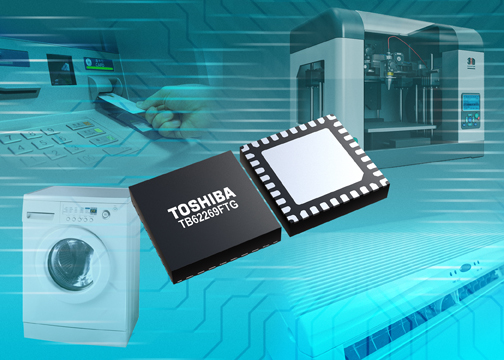 Toshiba launches compact, hi-res 40V, 1.8A bipolar stepping motor driver