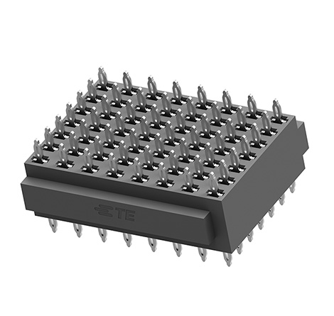 TE Connectivity launches press-fit board stacking connector