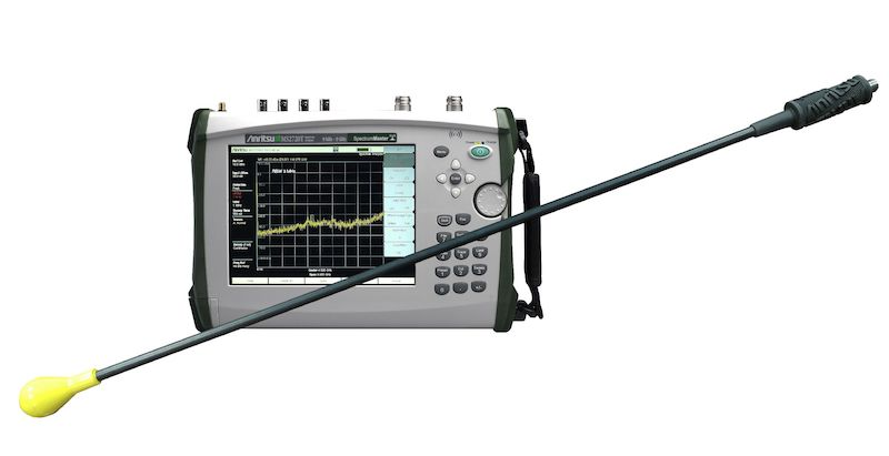 Anritsu's PIM Hunter test probe can better locate external PIM sources