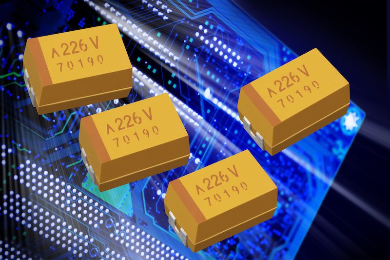 AVX's COTS Plus polymer solid electrolytic multianode chip caps tout robustness