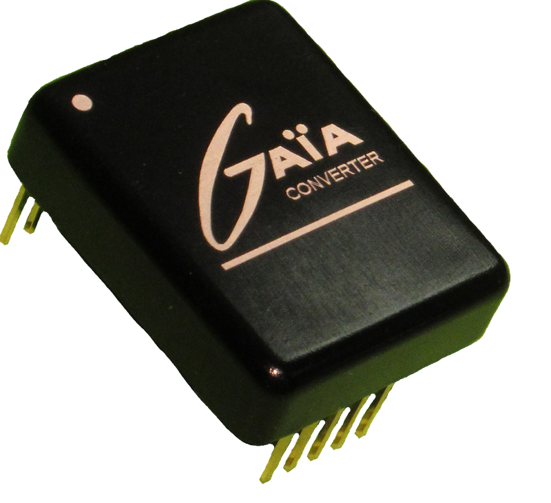 Gaia Converter releases family of ultra wide input converters target rail, trans and mil/aero apps