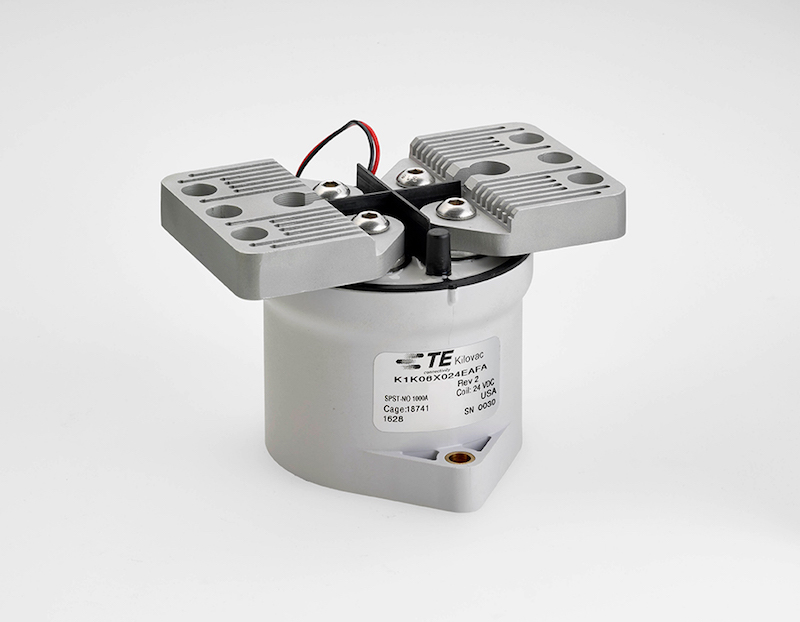 TE Connectivity claims smallest and lightest 1000 A/1000 VDC contactor avail