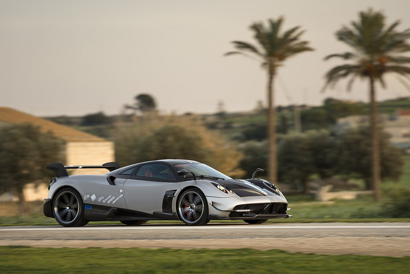 Pagani Huayra BC supercar has Microchip's MOST tech