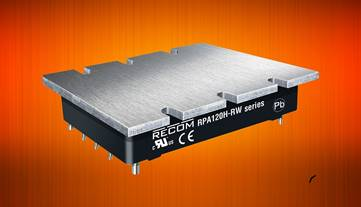 RECOM's 120W half-bricks for rail and monitoring apps now at Dengrove