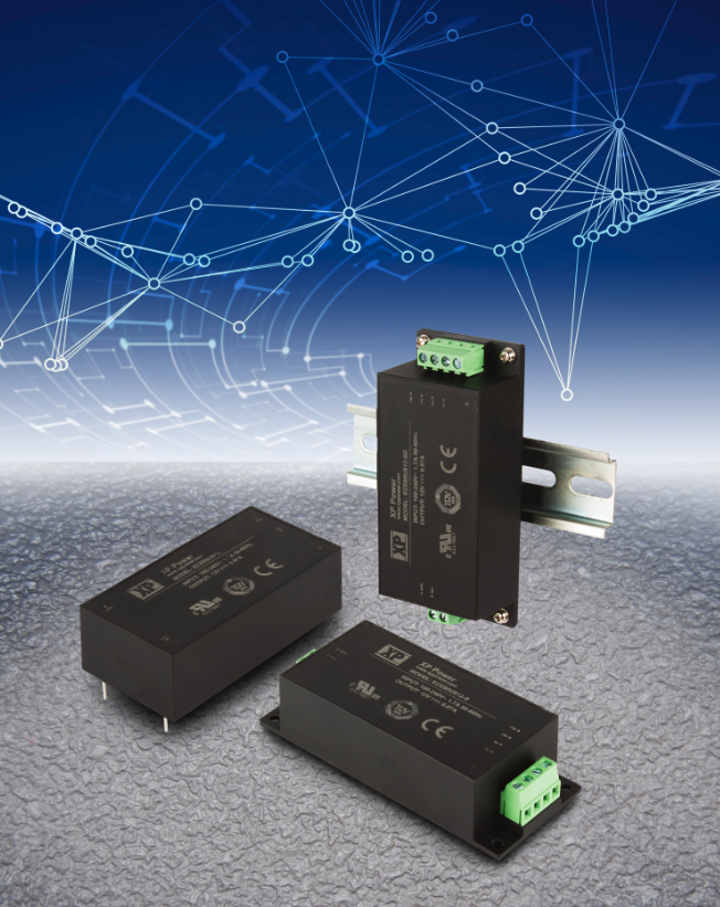 XP Power's encapsulated 80W AC-DC modules tout ultra-compact footprint