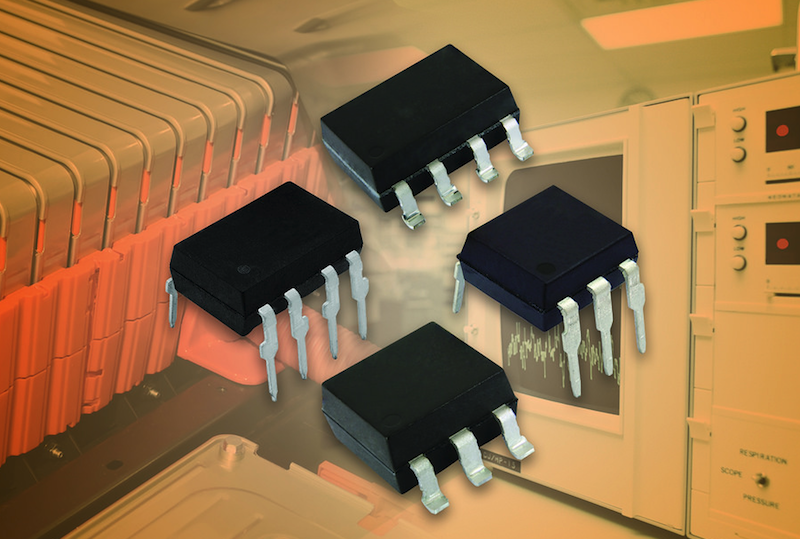 Vishay's hybrid solid-state relays offer fast operation, wide temp range, and high load voltage