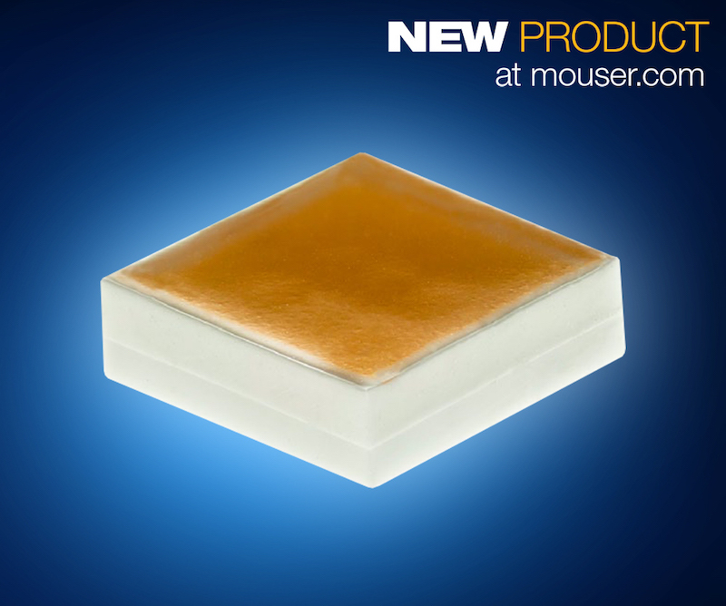 Mouser now ships Cree's high-power, high-efficacy XLamp MHB-B LEDs