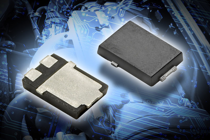 Vishay's tiny 1500W bi-directional SMT PAR transient voltage suppressors now at TT