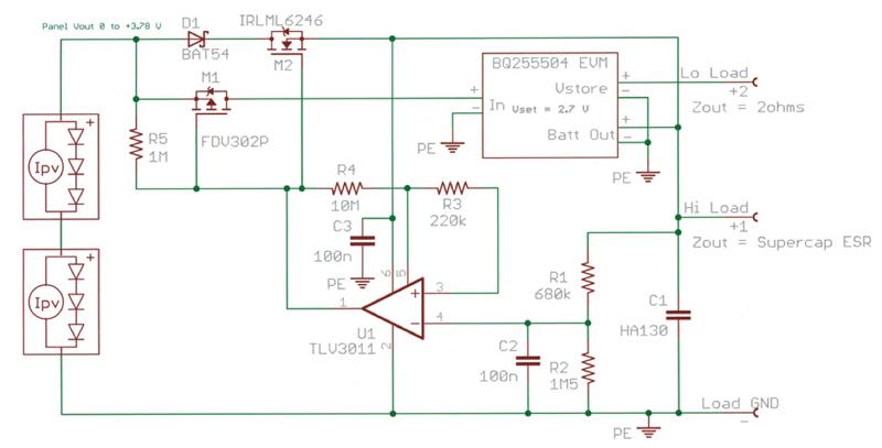 Using supercapacitors in energy harvesting