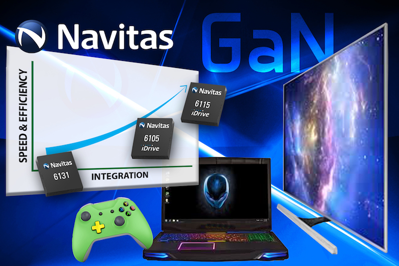 Navitas claims first production GaN power ICs