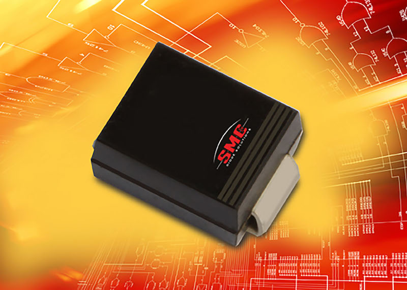SMC Diode offers SMB rectifier in low-profile DO-214AA Package