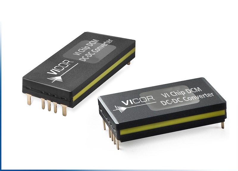 Vicor introduces two new DCMs in a ChiP Package