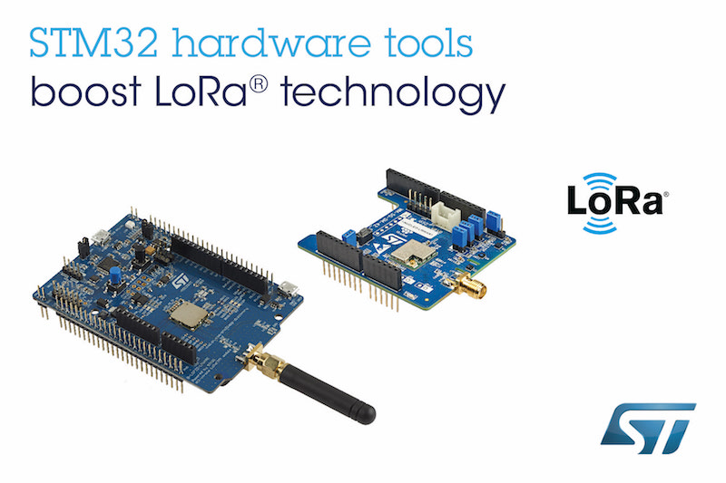 STM32 proto boards from STMicro support long-range low-power IoT