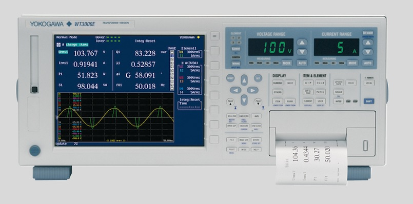 Yokogawa claims most accurate transformer-test power analyzer