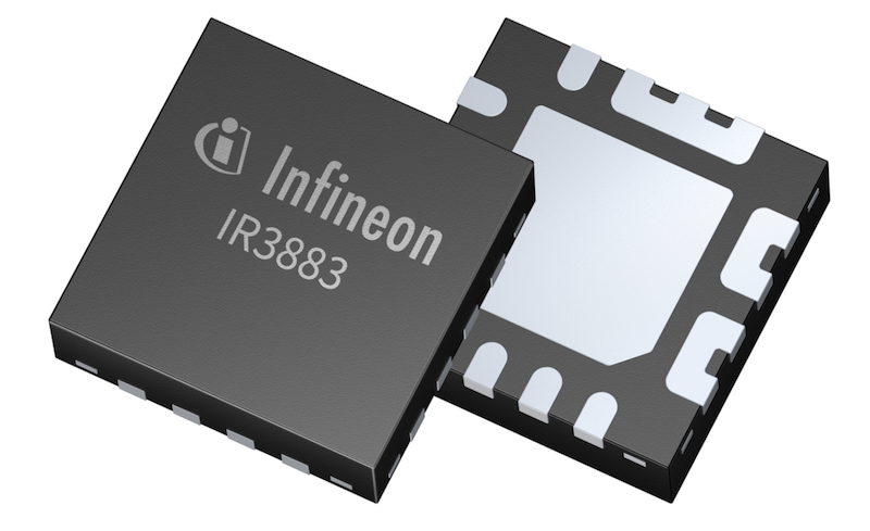 Infineon's latest DC-DC voltage regulator serves high-density apps