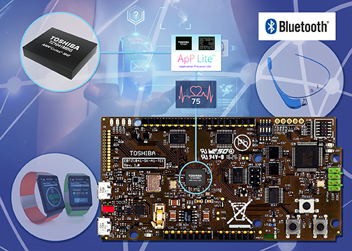 Toshiba launches IoT dev kit for Bluetooth wearables
